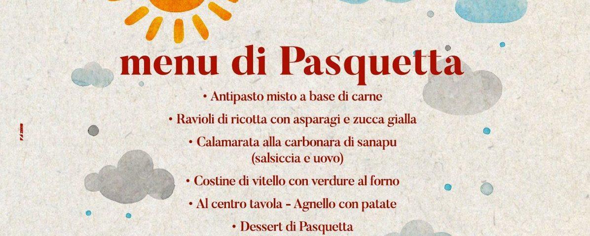 Menu Pasquetta 2018 | Le Magnolie Ristorante e Pizzeria | Frigintini