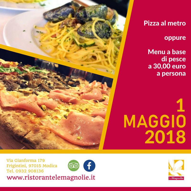 1 Maggio   Le Magnolie Ristorante e Pizzeria   Frigintini