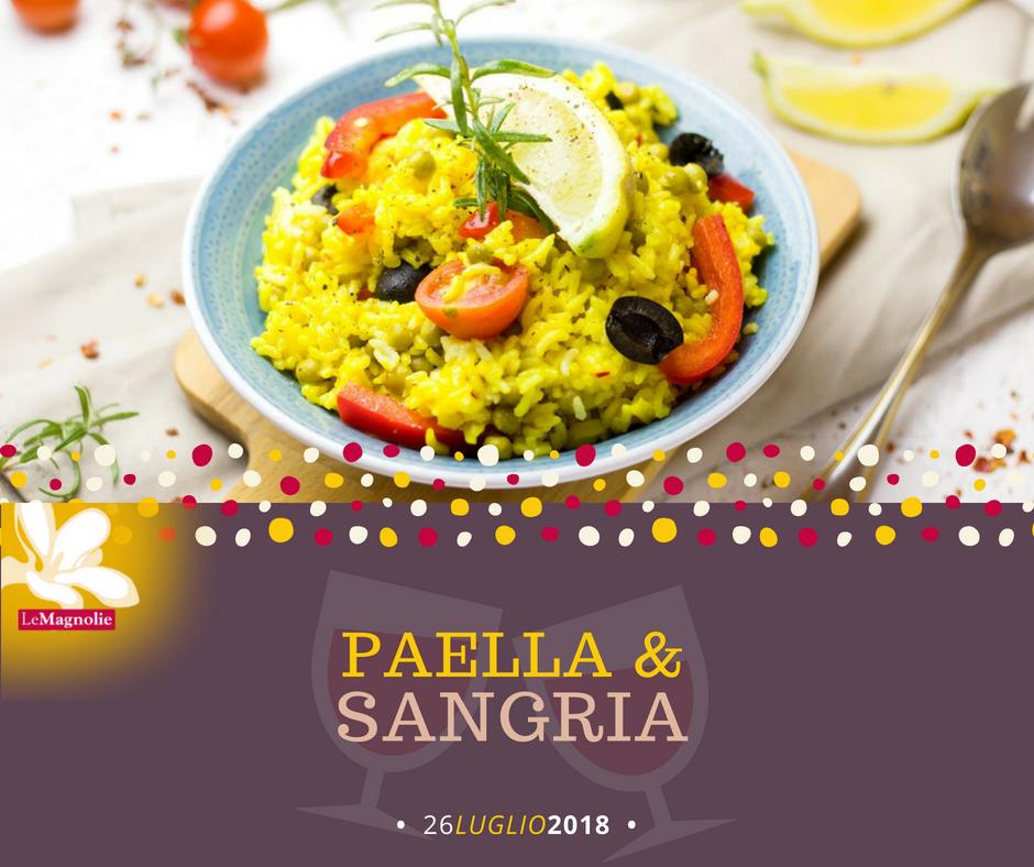Paella y Sangria | Le Magnolie Ristorante e Pizzeria | Frigintini