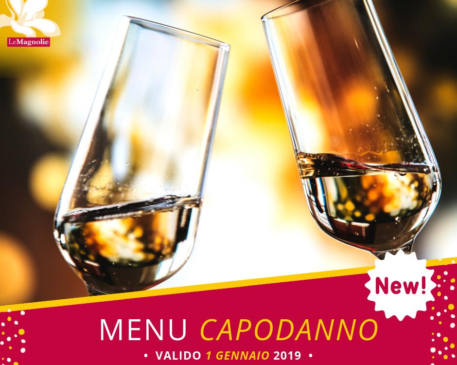 Menu di Capodanno 2019 | Le Magnolie Ristorante e Pizzeria | Frigintini