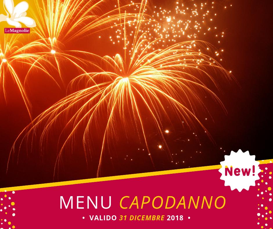 Menu di Capodanno | Le Magnolie Ristorante e Pizzeria | Frigintini