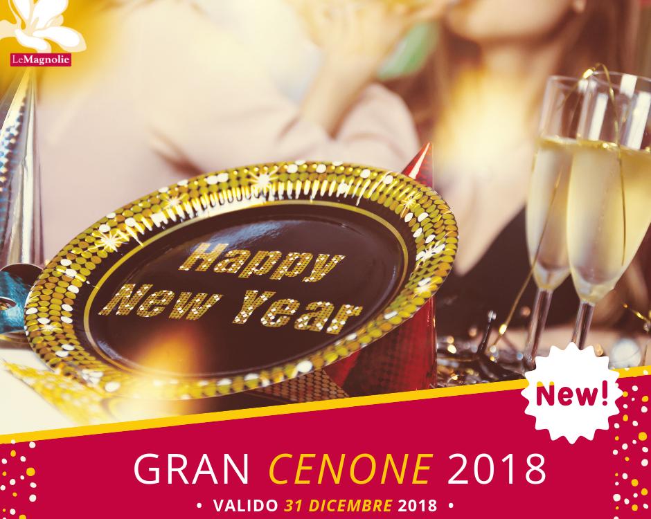 Menu di Fine Anno 2018 | Le Magnolie Ristorante e Pizzeria | Frigintini