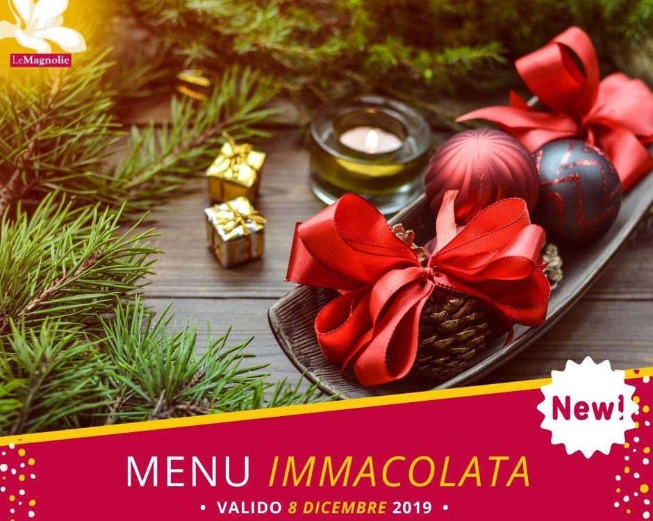 Menu dell'Immacolata 2019 | Le Magnolie Ristorante e Pizzeria | Frigintini