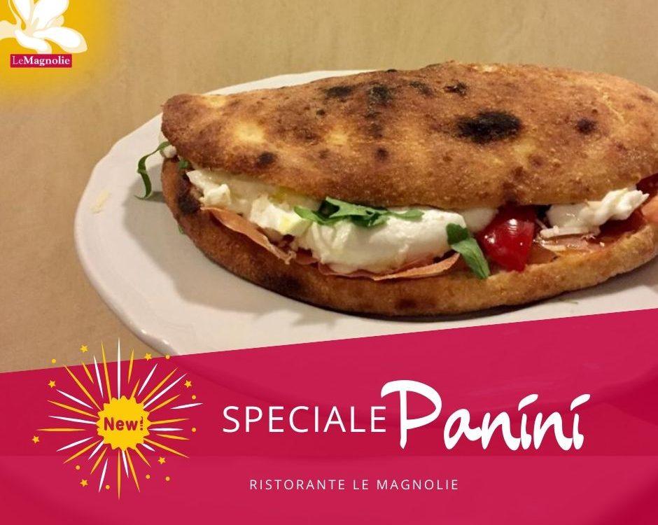 Menu panini 2020 | Le Magnolie Ristorante e Pizzeria | Frigintini